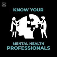 Mental Health Professions (Psychology vs Psychiatry)